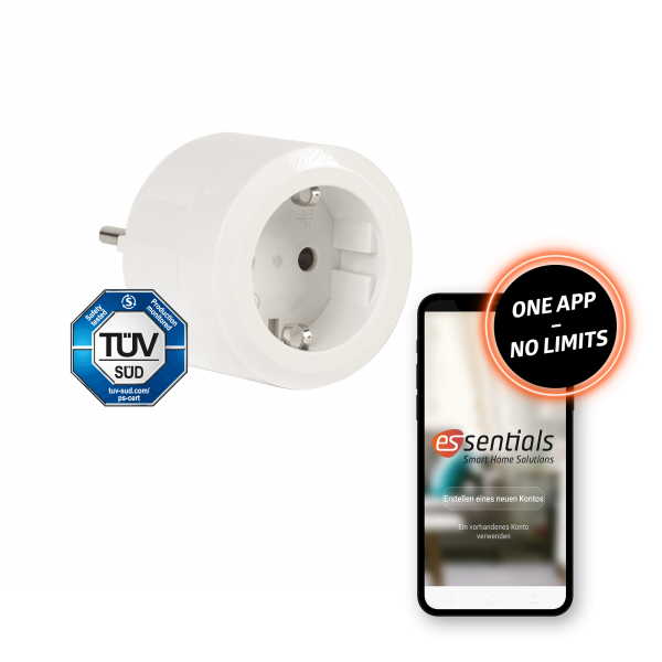 essentials Smart Home Schaltsteckdose 16 A