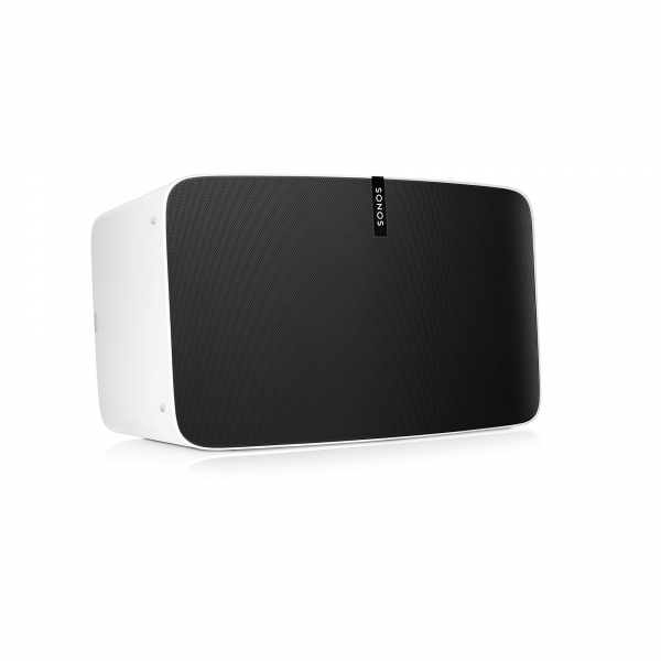 Sonos PLAY:5 Der ultimative Multiroom Smart Speaker für Wireless Music Streaming (weiß)