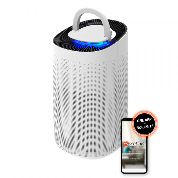 essentials Smart Home mobiler Luftreiniger