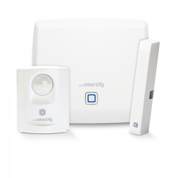 wesmartify Starter-Set Sicherheit bis 1 Zimmer - Homematic IP kompatibel