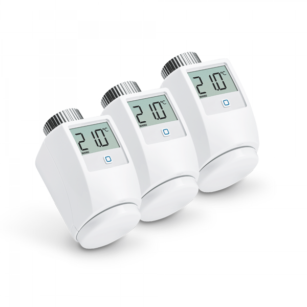 3er-Set Homematic IP Heizkörperthermostat