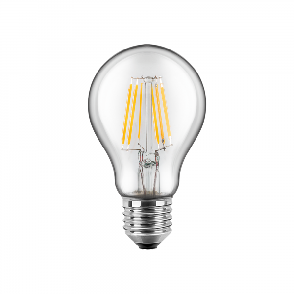 3er-Set BLULAXA® LED Filament Lampe Birnenform 8 Watt WW